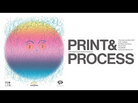 Greg Foley and Natalie Andrewson: Print and Process
