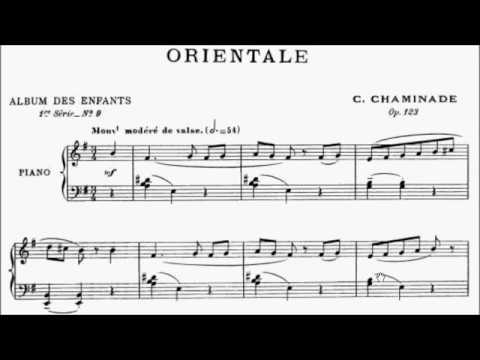 AMEB Piano Series 18 Grade 4 B1 Chaminade Orientale Op.123 No.9 Sheet Music