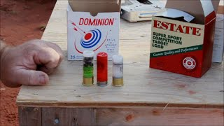 Test Firing Dominion Arms 12 Gauge Slugs and 00 Buckshot