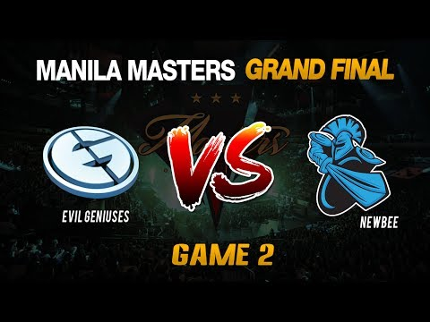 GRANDFINAL EG Vs NEWBEE Highlights Manila Masters 2017 Game 2