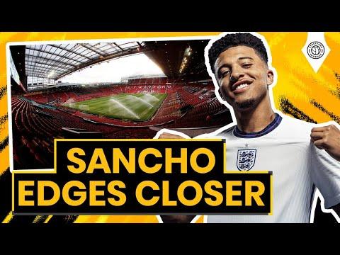 Jadon Sancho Wants Manchester Transfer! | Stretford Paddock Live