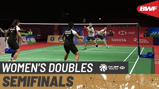 YONEX Thailand Open | Day 5: Lee/Shin (KOR) [3] vs. Polii/Rahayu (INA) [5]
