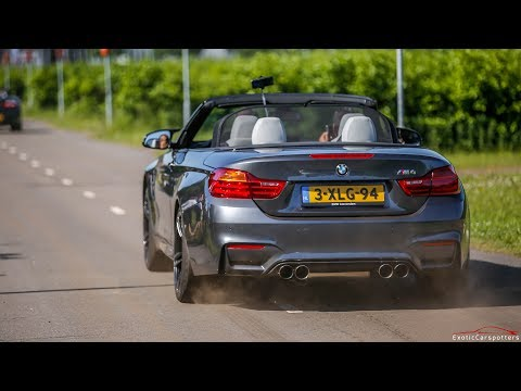 CRAZY LOUD BMW M4 F83 Convertible w/ Armytrix Exhaust !