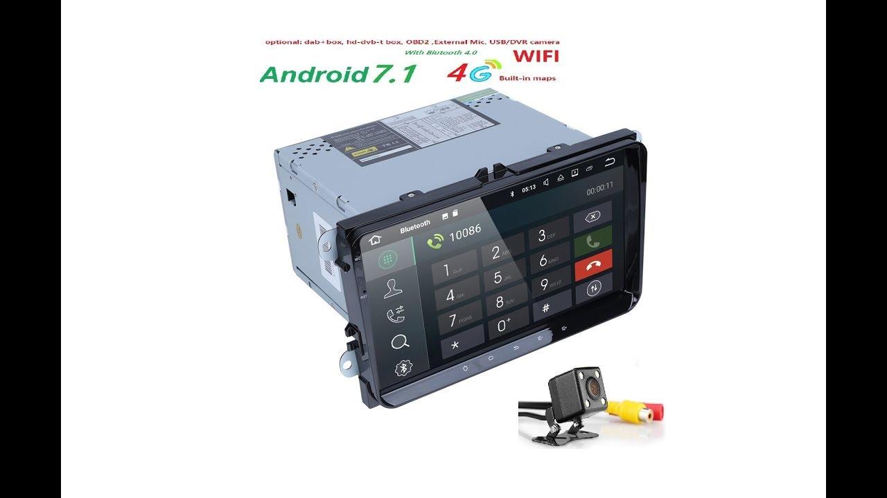 hizpo autoradio 9 inch 2din gps android 7 quand core car. Black Bedroom Furniture Sets. Home Design Ideas
