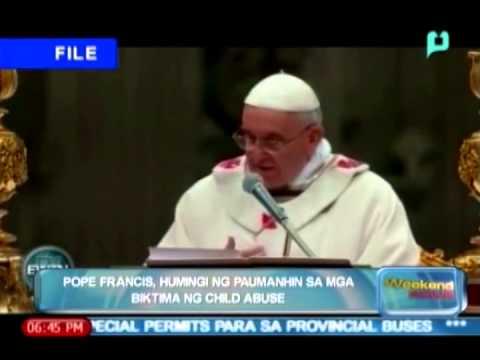 Globalita: Pope Francis, humingi ng paumanhin sa mga biktima ng child abuse [04|12|14]