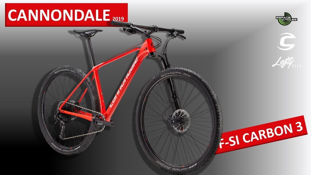 662a335cedb CANNONDALE F-SI CARBON 3 - 2019 - YouTube