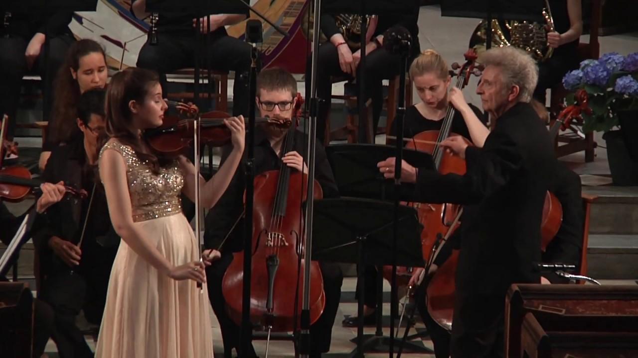 Mozart: Violin Concerto K. 216 - Alexandra Hauser: Violin solo