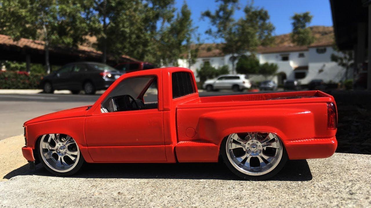1994 Chevy Sport Silverado Red Stepside (OBS) Custom mini ...