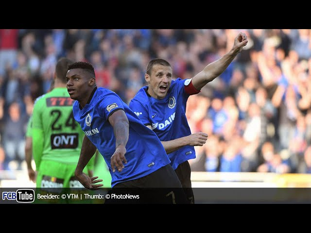 2016-2017 - Jupiler Pro League - PlayOff 1 - 02. Club Brugge - SC Charleroi 1-1