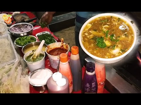 Chicken Soup - Indian Street Food - Street Food India 2017