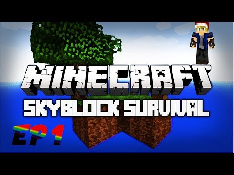 Skyblock Ep1! A New Beginning!