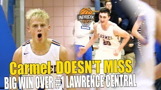 Carmel Takes DOWN Lawrence Central