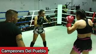 🥊Mayra Sanabria Vs Angeles Domínguez - K1 - SEMI PRO - Campeones Del Pueblo - Siempre Humilde