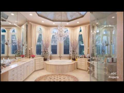Royal style bathroom designs. The Luxurious bathroom ideas.