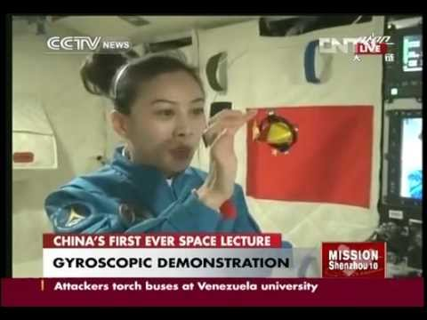 Full video: Chinese astronaut gives space lecture