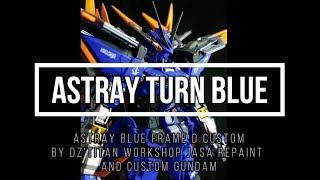 IRRE BLAU | Benutzerdefinierte Gemalt von DZ'Titan Workshop Jasa Repaint und Custom Gundam