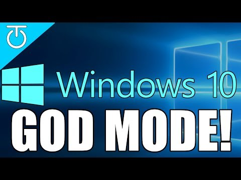 Windows GOD MODE!! - How To Enable God Mode - Windows 10 - #TechTip