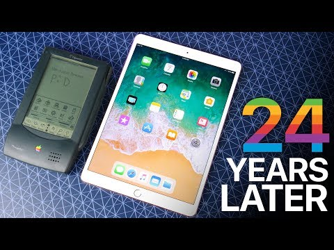 iPad Pro 10.5 vs Apple Newton - 24 Years of Tablets