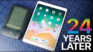 iPad Pro 10.5 vs Apple Newton - 24 Years of Tablets thumbnail