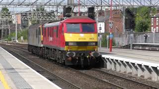 Freight Trains at Stafford Station Friday 01/09/2017