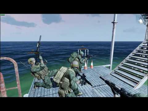 Arma 3: Oil Rig Mission