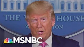 President Trump Contradicts Health Officials on Coronavirus Response | Andrea Mitchell | MSNBC
