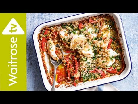 Parmesan Chicken with Veg Sauce | Waitrose