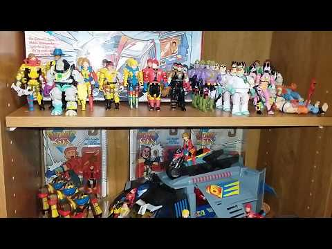 Bionic six entire series toy review 80s cartoon