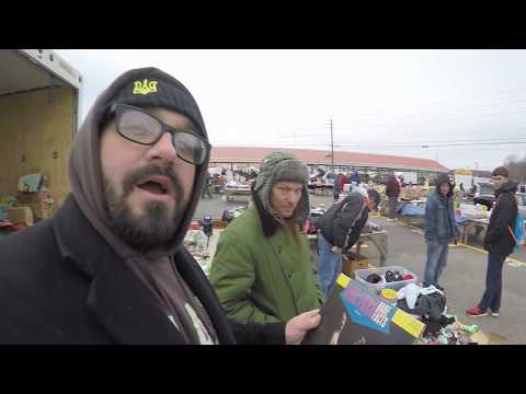 FLEA MARKET ADVENTURE #37 (Retro Video Games, Vintage Toys)