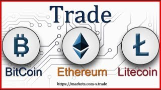 Handel BitCoin - Ethereum - LiteCoin Mit Markets.com App