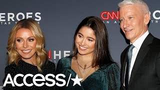 Kelly Ripa & Her Daughter Lola Make Rare Red Carpet Appearance At CNN Heroes