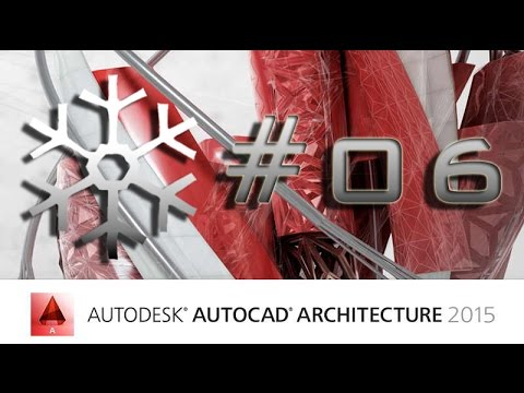Download AutoCAD Architecture 2015 [Ger.] Grundriss + Treppe #06