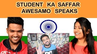 Indian reaction on Khujlee Family | STUDENT KA SAFFAR | AWESAMO SPEAKS | Swaggy d