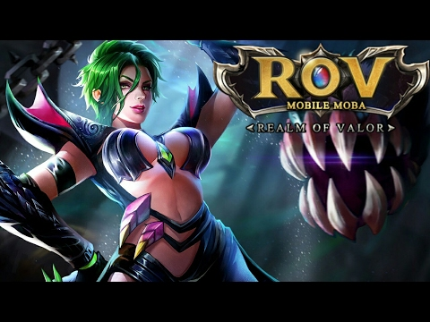 Garena RoV รีวิว เล่น นาเย สาวสวยนมโต หัวเขียว สายเมจ พลังทำลายร้างสูง !คนเล่นกาก แต่ฮีโร่โคตรเก่ง!