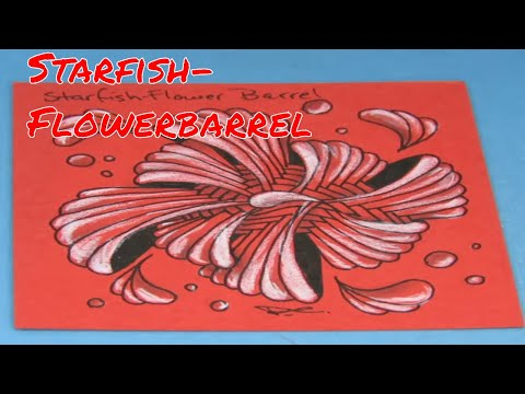 Starfish-Flowerbarrel