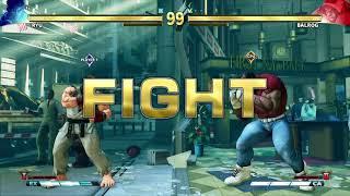 STREET FIGHTER V Ryu vs Balrog