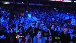 The Rock Returns to WWE Raw 2011/11/14 [HD 720p]