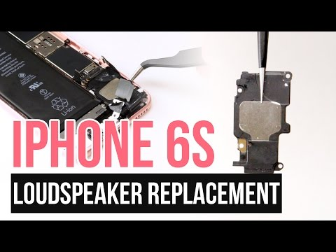IPhone 6s Loudspeaker Replacement Video Guide