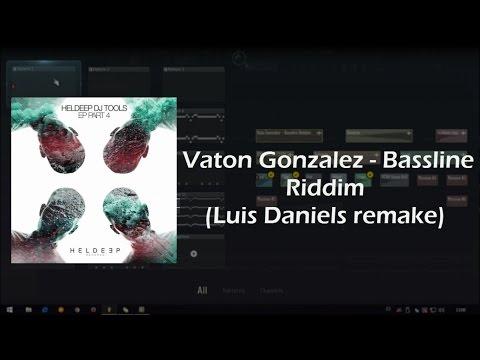 Vato Gonzalez - Bassline Riddim | Fl Studio (Luis Daniels Remake) FREE FLP