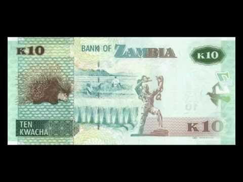 All Zambian Kwacha Banknotes - 2012 To 2014 In HD