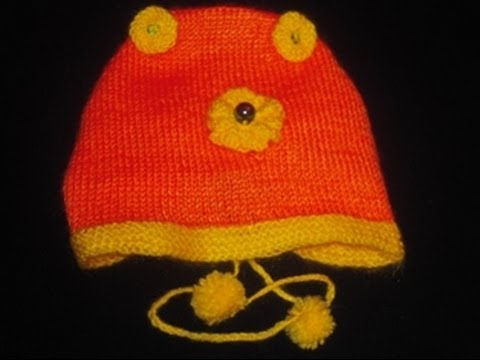fe3e7338a9a Knitting Baby s Cap in Urdu Hindi by Azra Salim - YouTube