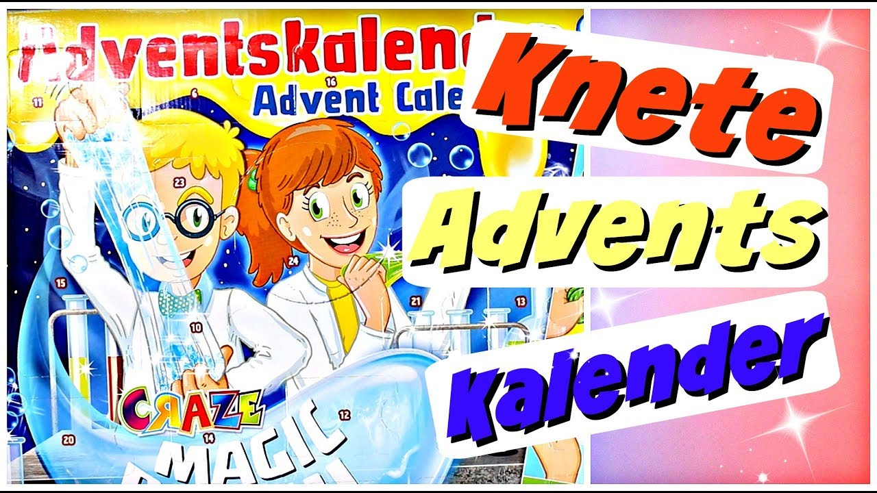 Adventskalender Bild Craze Super Knete Adventskalender Für Kinder Weihnachtskalender 2018 Advent Calendar