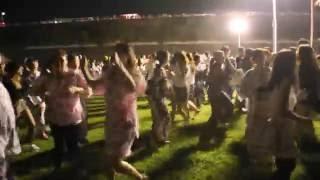 説明 美濃加茂市で毎年行われている「おん際MINOKAMO」 花火大会のあと...