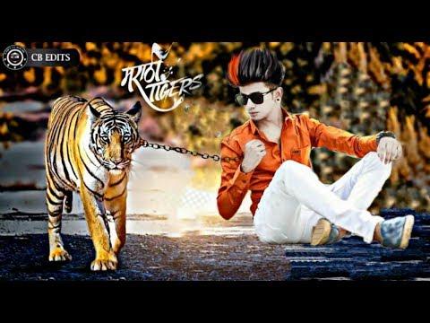 Boy And Tiger - Creative Picsart Editing Tutorial 2018- Best Picsart Editing 2018