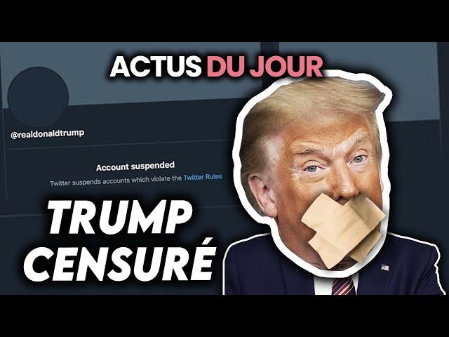 Trump censuré, nouveau Covid japonais, tempête de neige en Europe... Actus du jour