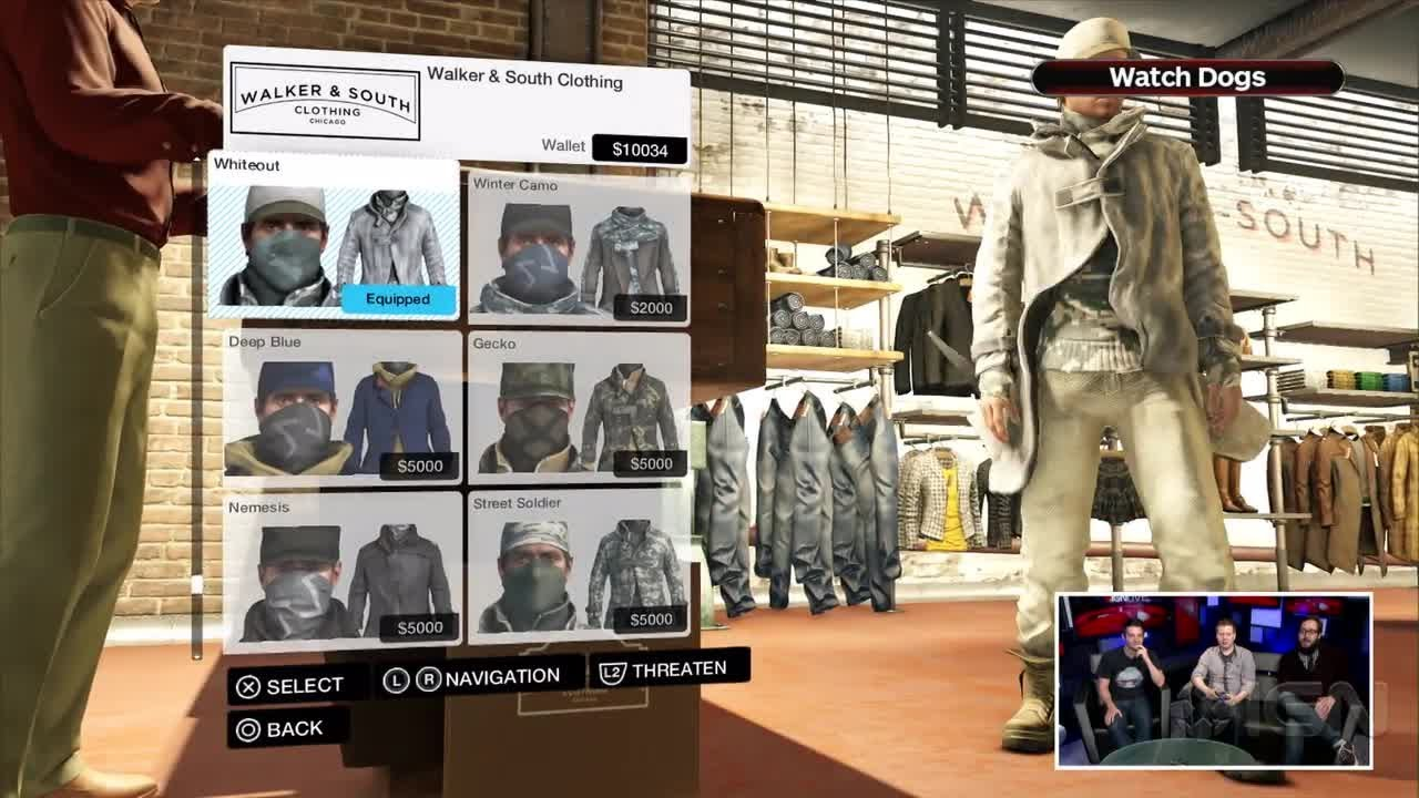 Watch Dogs Outfits