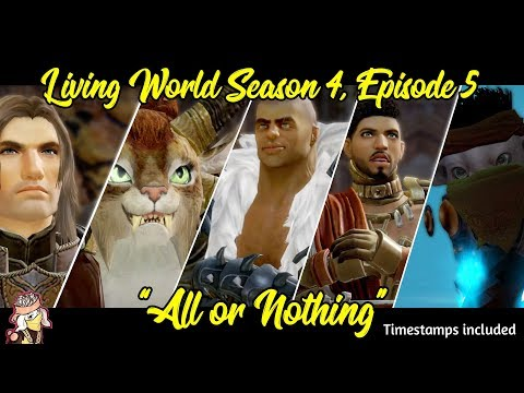 Guild Wars 2: Living World Season 4, Episode 5 - All or Nothing! [Livestream VoD] thumbnail