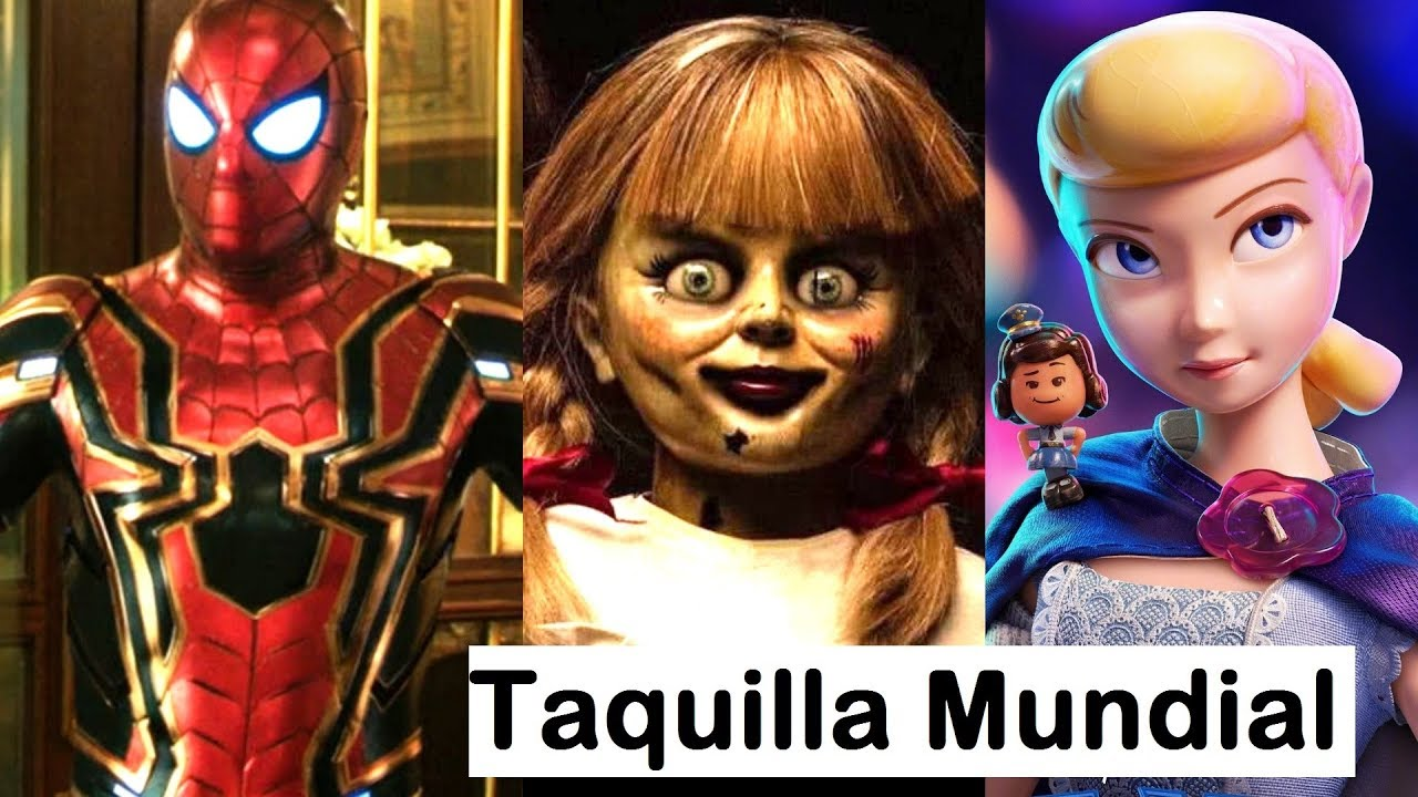 Spider-Man: Far From Home conquista el mundo y opaca a Toy Story 4, Annabelle 3, Aladdin, Godzilla.