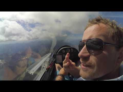 Soaring in Vinon-sur-Verdon and over the Alps