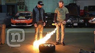 Chris Forsberg & Ryan Tuerck Drift Garage - Welding The Diff, Installing Suspension & Safety Ep. 3